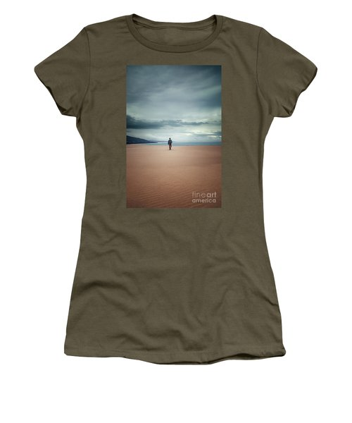 Across The Sands Of Time Women's T-Shirt