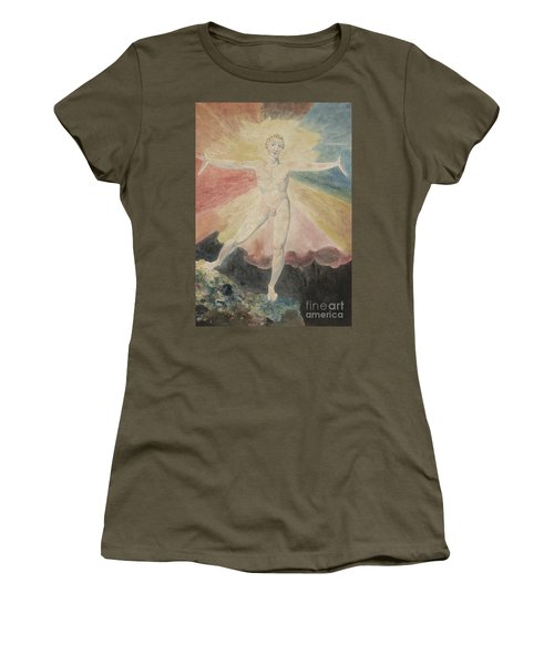 Albion Rose Or The Dance Of Albion Women's T-Shirt