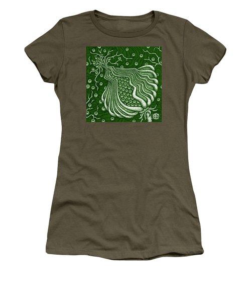 Alien Bloom 5 Women's T-Shirt