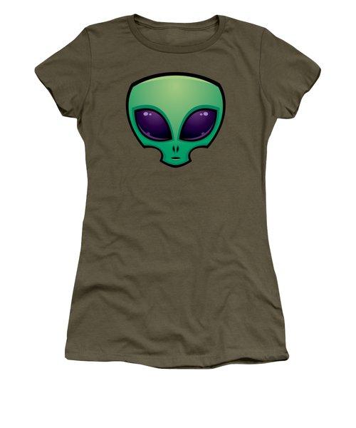 Alien Head Icon Women's T-Shirt