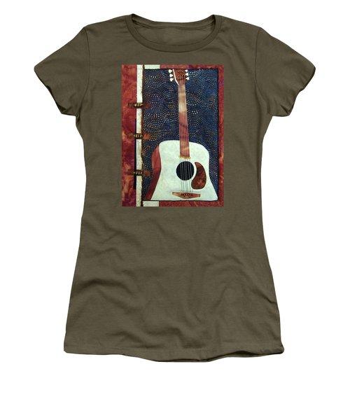 All That Jazz Guitar Women's T-Shirt