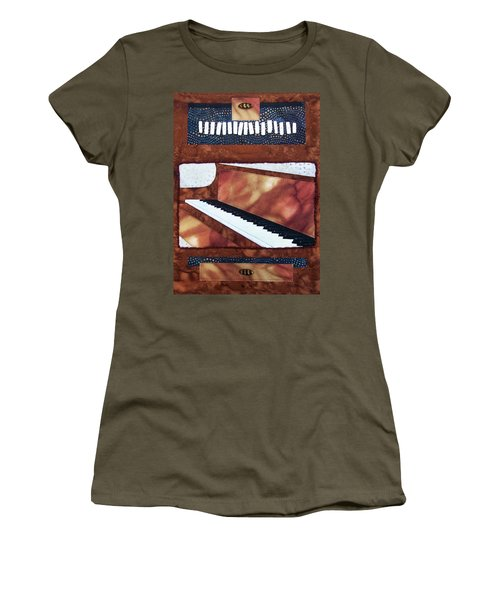All That Jazz Piano Women's T-Shirt