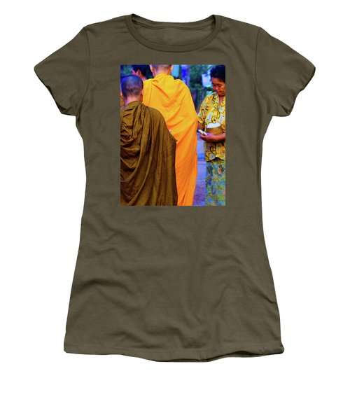 Alms For The Monks Women's T-Shirt