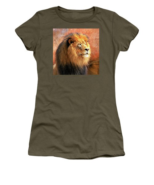 Alpha Male Lion Women's T-Shirt