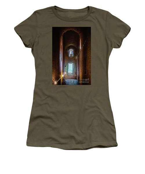 An Entrance To The Casemates Of The Medieval Castle Women's T-Shirt