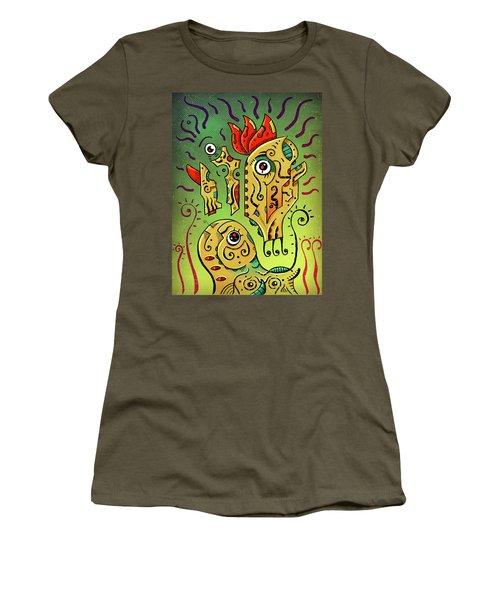 Women's T-Shirt featuring the digital art Ancient Spirit by Sotuland Art