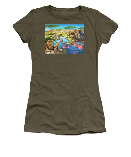 Animals In Africa Women's T-Shirt