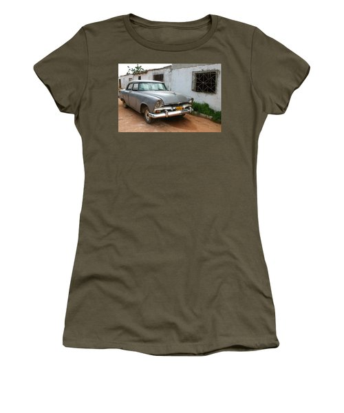 Antique Car Grey Cuba 11300501 Women's T-Shirt