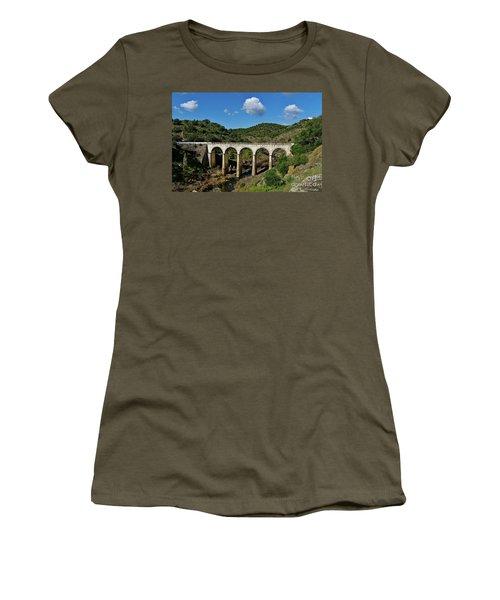 Antique Mertola's Bridge In Alentejo Women's T-Shirt
