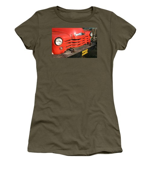 Antique Truck Red Cuba 11300502 Women's T-Shirt