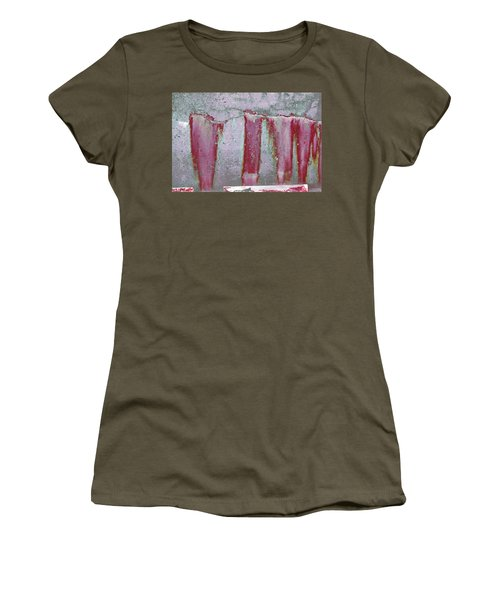 Women's T-Shirt featuring the photograph Art Print Abstract 22 by Harry Gruenert