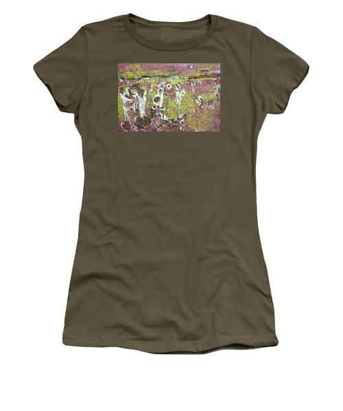 Women's T-Shirt featuring the photograph Art Print Patina 51 by Harry Gruenert