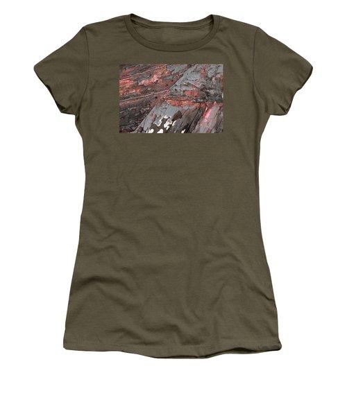 Women's T-Shirt featuring the photograph Art Print Patina 52 by Harry Gruenert