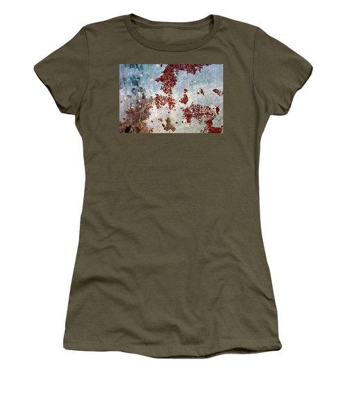 Women's T-Shirt featuring the photograph Art Print Patina 58 by Harry Gruenert
