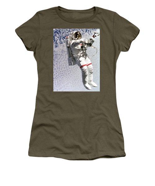 Astronaut In Space Women's T-Shirt