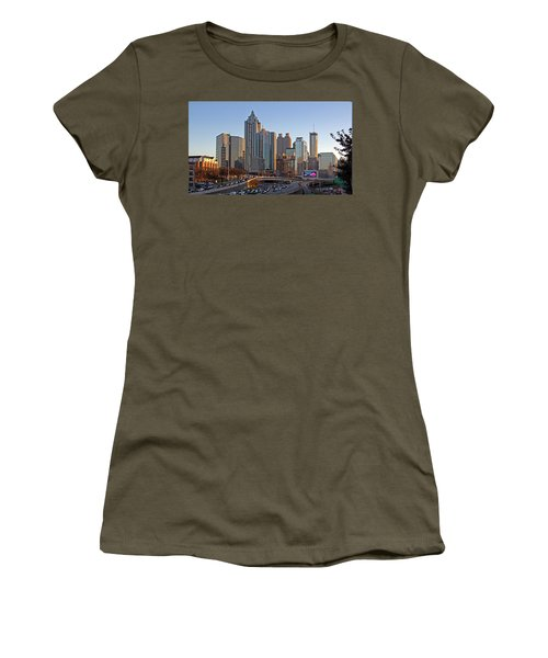Atlanta - Downtown View Women's T-Shirt