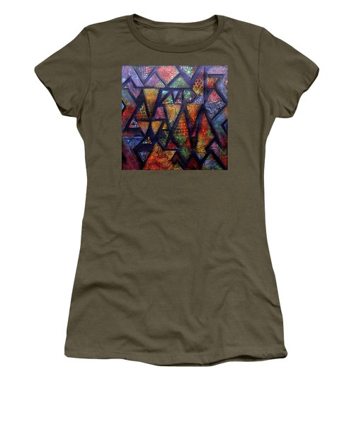 Attractive Mosaic  Women's T-Shirt