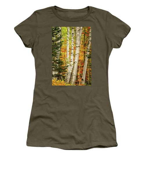 Autumn Birch Women's T-Shirt