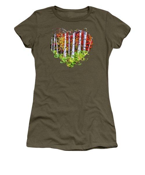 Autumn Birches Women's T-Shirt
