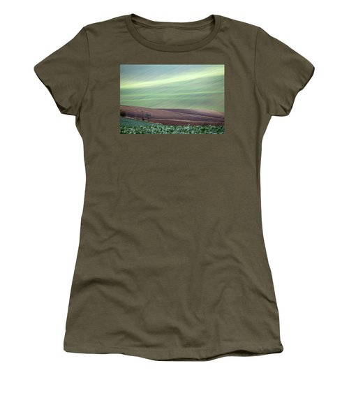 Women's T-Shirt featuring the photograph Autumn In South Moravia 4 by Dubi Roman
