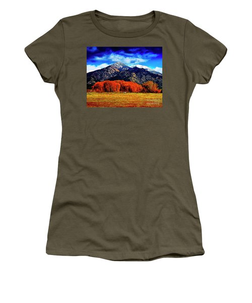 Autumn In Taos New Mexico Women's T-Shirt