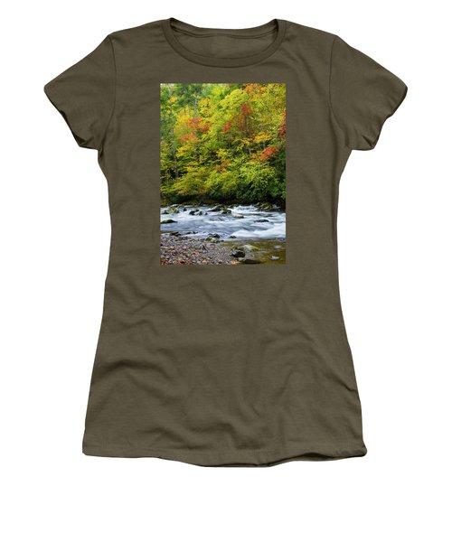 Autumn Stream Women's T-Shirt