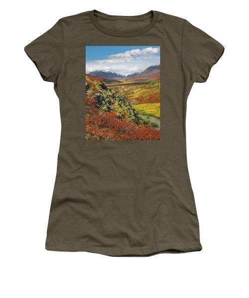 Autumn Tundra, Tombstone Range Women's T-Shirt
