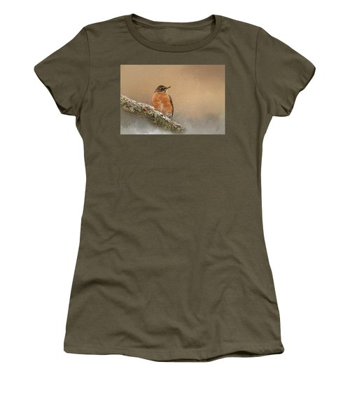 Backyard Visitor Women's T-Shirt