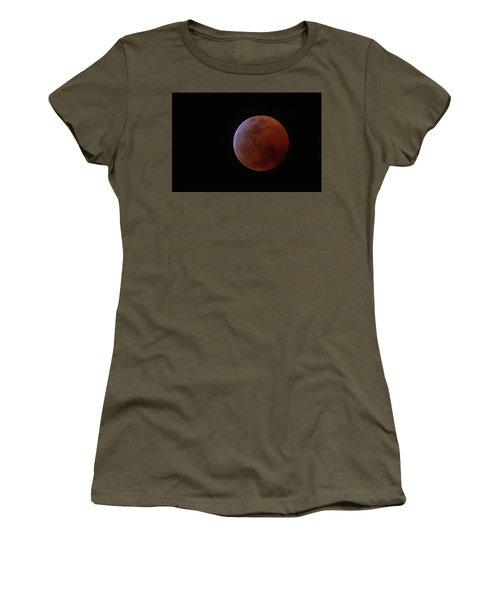 Bahamian Super Blood Wolf Moon Women's T-Shirt