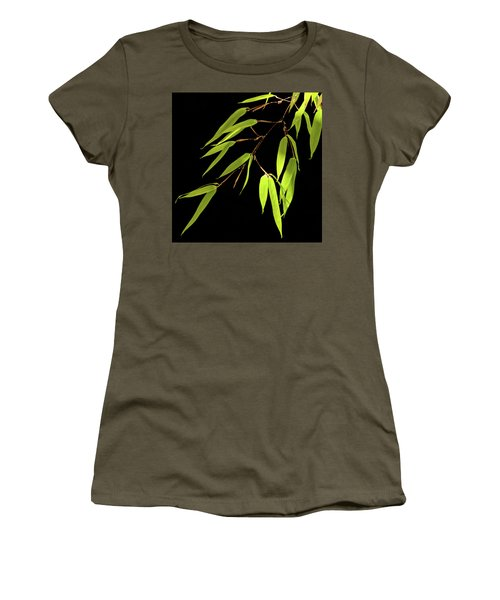 Bamboo Leaves 0580a Women's T-Shirt
