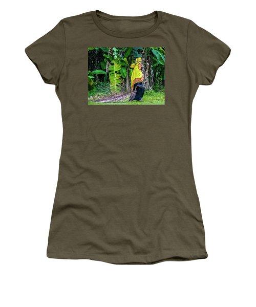Banana Harvest, Zanzibar, Tanzania Women's T-Shirt