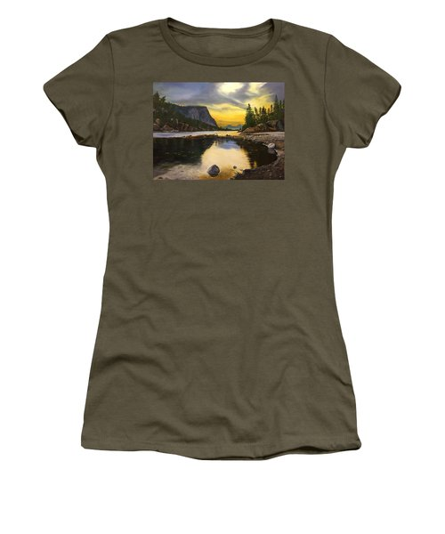 Bow River Sunrise  Women's T-Shirt