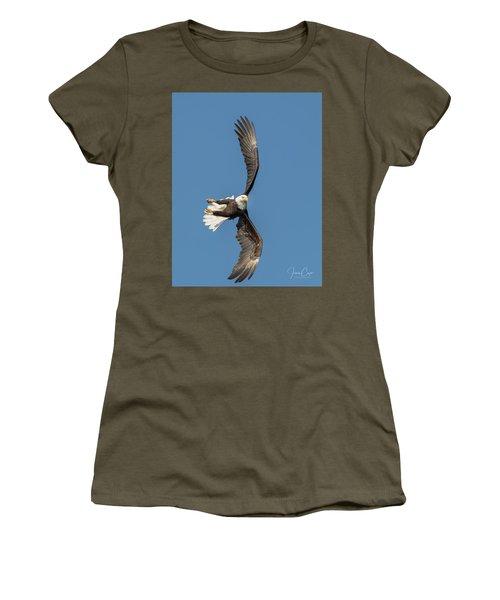 Banking Bald Eagle Women's T-Shirt