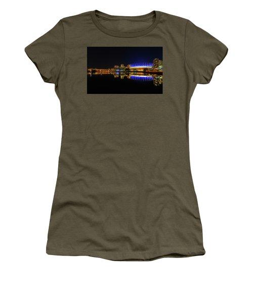 Bc Arena At Night  Women's T-Shirt