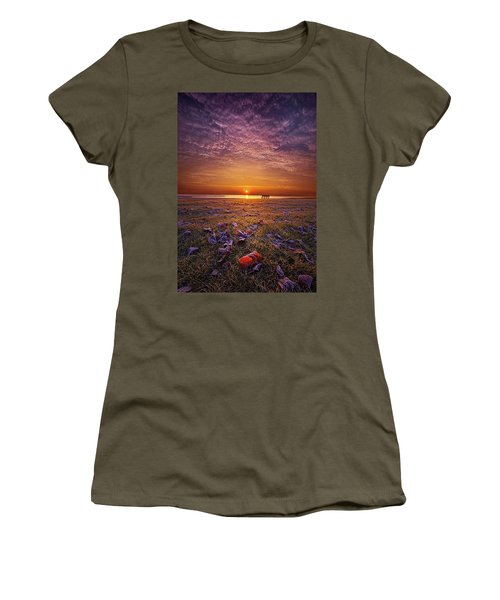 Women's T-Shirt featuring the photograph Be The Light by Phil Koch
