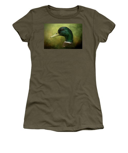 Beauty In Green Women's T-Shirt