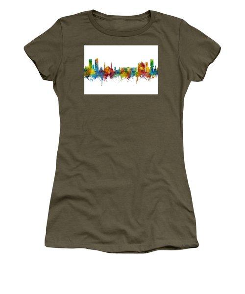 Beirut Lebanon Skyline Women's T-Shirt