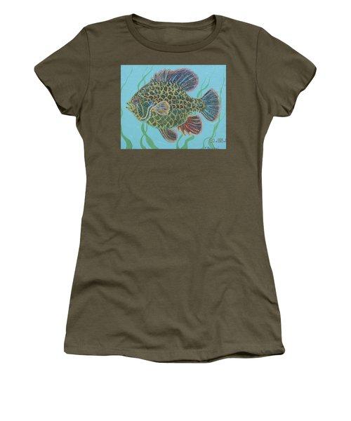 Bejeweled Bluegill Women's T-Shirt