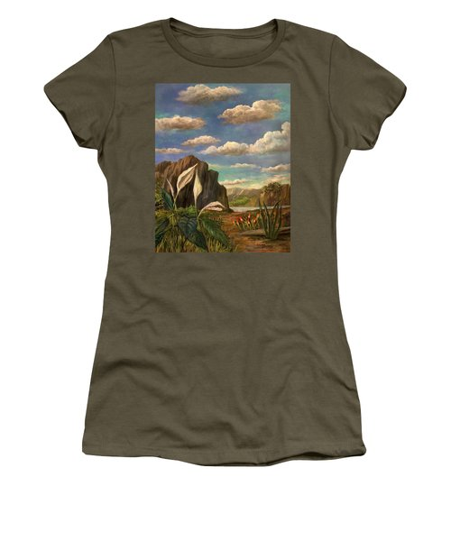 Beneath The Clouds Of Africa Women's T-Shirt