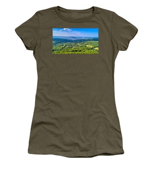 Binghamton Aerial View Women's T-Shirt