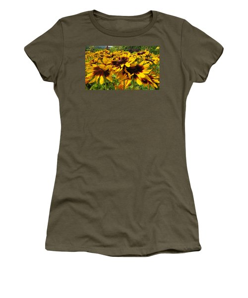 Black-eyed Susan In Your Face Women's T-Shirt