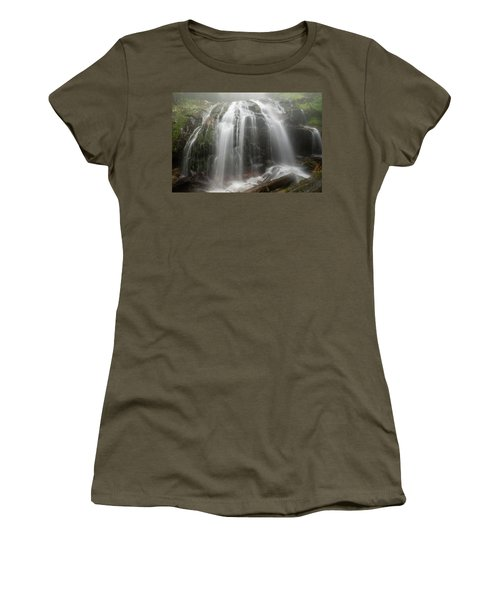 Blue Ridge Mountain Falls Women's T-Shirt