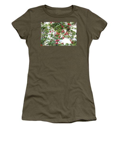 Blushing Blooms Women's T-Shirt