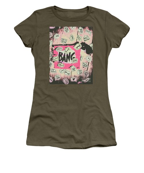 Boom Crash Bang Women's T-Shirt