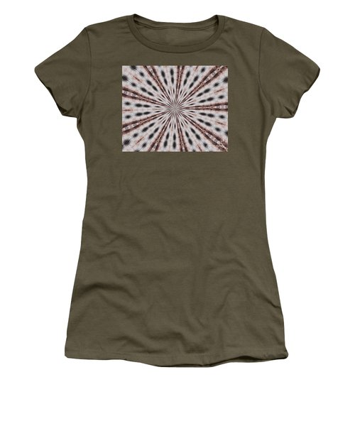 Women's T-Shirt featuring the photograph Boston Terrier Mandala by Debbie Stahre