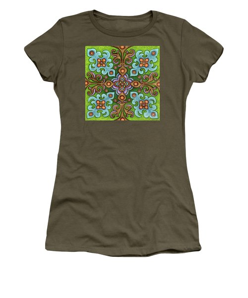 Botanical Mandala 4 Women's T-Shirt