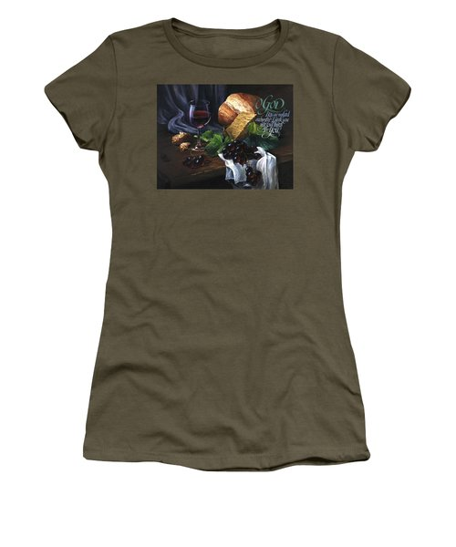 Bread And Wine Women's T-Shirt