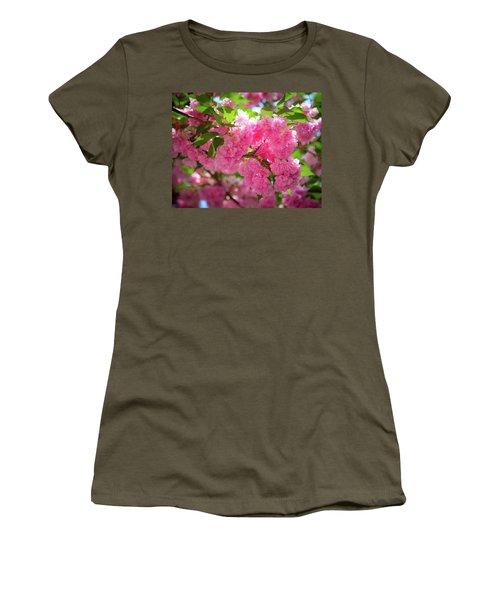Bright Pink Blossoms Women's T-Shirt
