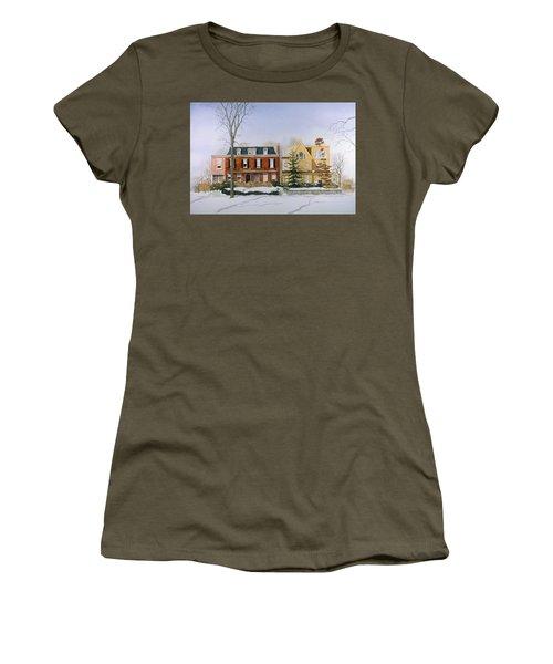 Broom Street Snow Women's T-Shirt