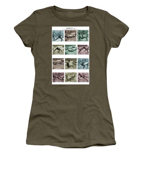 Bum Fit Beach Workout  Women's T-Shirt